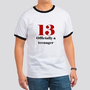 13 Teenager Ringer T