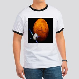 Orion Approaching The Red Planet Ringer T