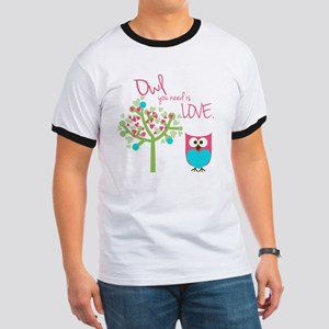 Owl You Need is Love Ringer T