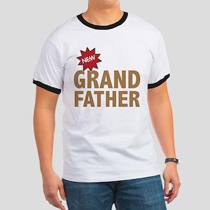 New Grandfather Grandchild Family Ringer T