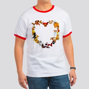 Dog Love Ringer T