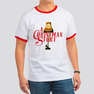 A Christmas Story With Leg Lamp Ringer T T-Shirt