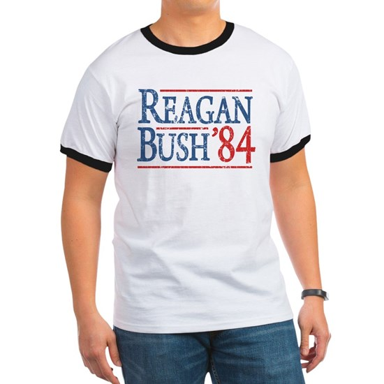 reagan bush 84 t shirt