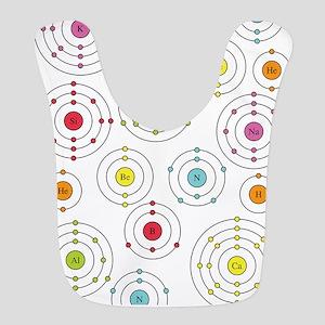 periodic shells fabric Bib
