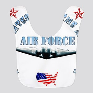 air force daughter Bib