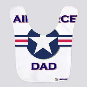 AIR FORCE DAD Bib