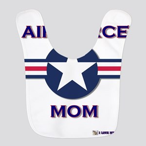 AIR FORCE MOM Bib