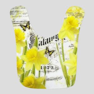 Vintage daffodils Bib