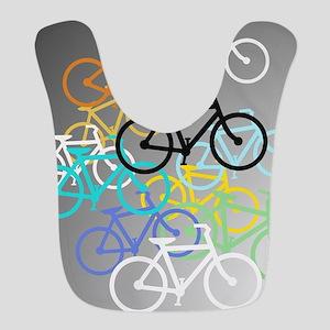 Colored Bikes Design Bib