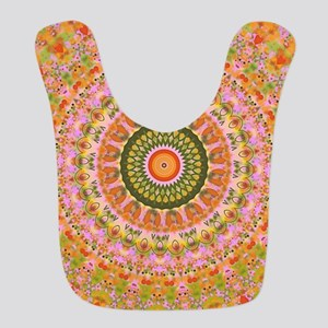 Happy Hippy Mandala Bib