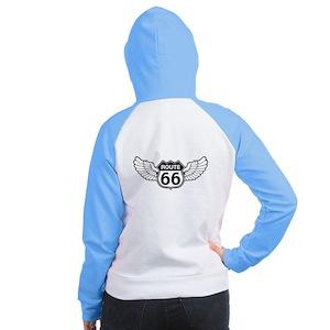 Winged 66 Women's Raglan Hoodie