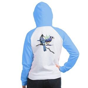 Blue Jay Women's Raglan Hoodie
