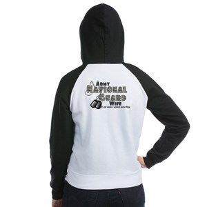 National Guard Wife - Digital Women's Raglan Hoodi