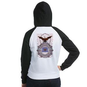 Security forces pride wear Women's Raglan Hoodie