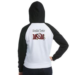 Airedale Terrier Women's Raglan Hoodie