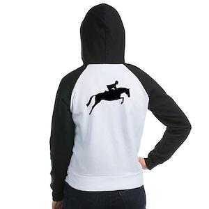 h/j horse & rider Women's Raglan Hoodie