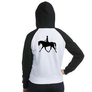 Horse Rider Women's Raglan Hoodie