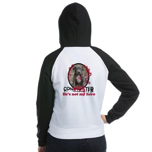 Con-Vick-ted Women's Raglan Hoodie