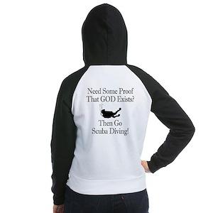 Need Some Proof (back) Women's Raglan Hoodie