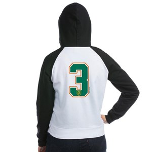 IE Ireland(Eire/Erin) Hockey 3 Women's Raglan Hood