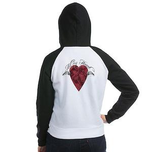 """All My Heart"" Women's Raglan Hoodie"