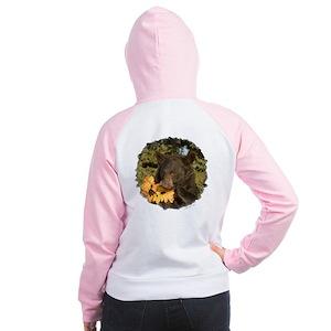Black Bear Women's Raglan Hoodie