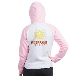Ft. Lauderdale Sun - Women's Raglan Hoodie