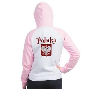 Polska Women's Raglan Hoodie