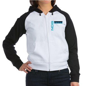 NCIS Don't Mess with Gibbs Women's Raglan Hoodie