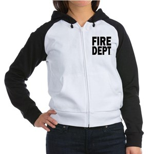 Fire Department Women's Raglan Hoodie