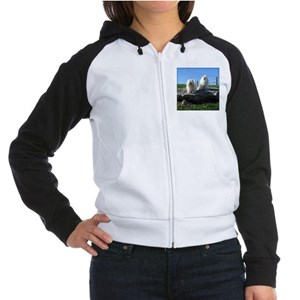 Beanie and Bailey's Women's Raglan Hoodie