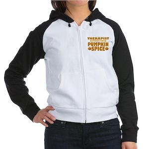 Therapist Powered by Pumpkin Spice Sweatshirt