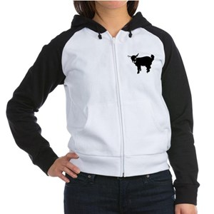 Baby Goat Women's Raglan Hoodie