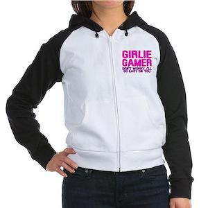 Girlie Gamer Women's Raglan Hoodie