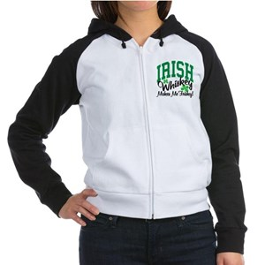 Irish Whiskey Women's Raglan Hoodie