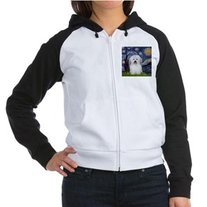 Starry Night Coton Women's Raglan Hoodie