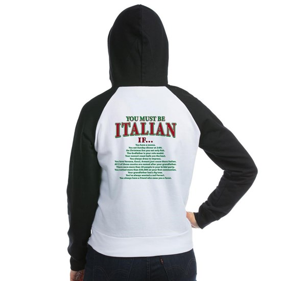 you must be Italian(front)