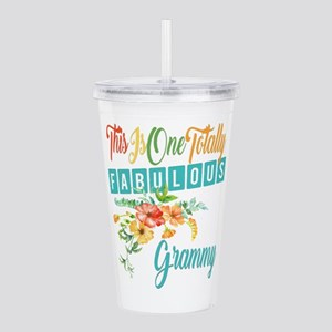 Fabulous Grammy Acrylic Double-wall Tumbler