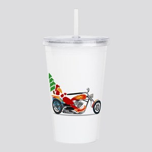 Have a Harley Christma Acrylic Double-wall Tumbler
