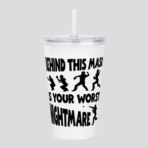 WORST NIGHTMARE Acrylic Double-wall Tumbler
