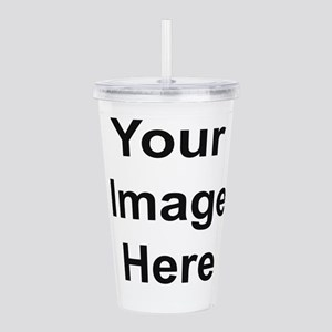 Personalised Acrylic Double-Wall Tumbler