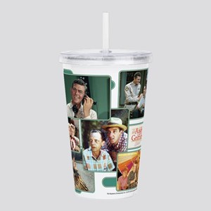Andy Griffith Collage Acrylic Double-wall Tumbler