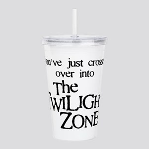 Into The Twilight Zone Acrylic Double-wall Tumbler