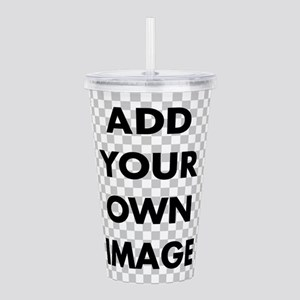 Custom add image Acrylic Double-wall Tumbler