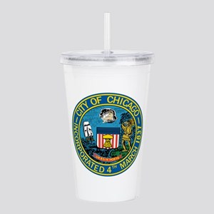 City of Chicago Seal Acrylic Double-wall Tumbler
