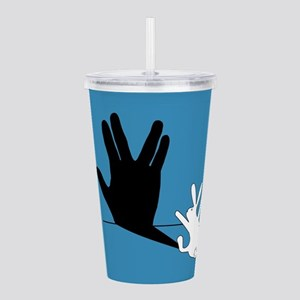 Star Trek Rabbit Vulca Acrylic Double-wall Tumbler