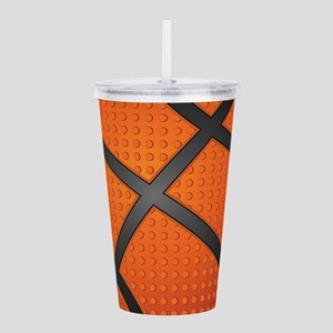Basketball Ball Acrylic Double-wall Tumbler