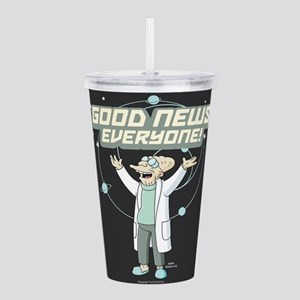 Futurama Good News Acrylic Double-wall Tumbler