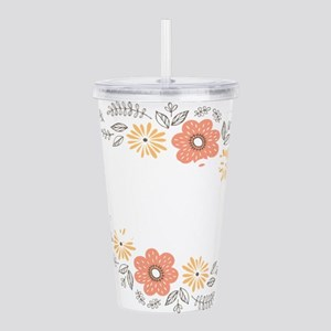 Blessed Mormor French Acrylic Double-wall Tumbler