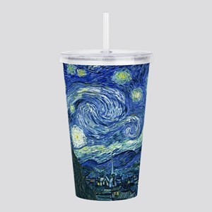 Van Gogh Starry Night Acrylic Double-wall Tumbler